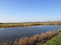 Fietsen langs het water Blauwestad, Oldambt