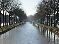 Het kanaal Ceresstraat Stadskanaal, Stadskanaal