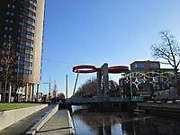 Nieuwe brug in het centrum Stadskanaal, Stadskanaal