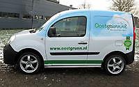 Oostgrunn.nl promotie auto Beerta, Oldambt
