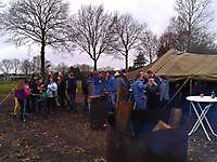 Carbischieten oudjaarsdag Bellingwolde, Westerwolde