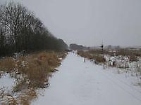 De Tjamme met sneeuw Finsterwolde, Oldambt