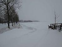 Flink pak sneeuw in Oost-Groningen Beerta, Oldambt