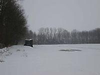 IJsbaan heeft te lijden onder de sneeuw Beerta, Oldambt