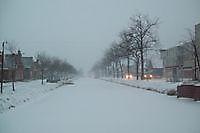Musselkanaal in de winter Musselkanaal, Stadskanaal