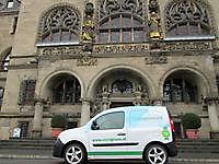 Bij het Radhaus in Duisburg Buiten Oost-Groningen, Andere gemeente