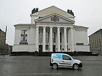 Bij het Theater der Stadt in Duisburg Buiten Oost-Groningen, Andere gemeente