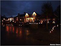 Kaarsjes nacht in Oudeschans Oudeschans, Westerwolde