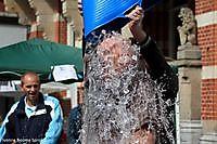 burgemeester Pieter Smit ice bucket challenge Winschoten, Oldambt