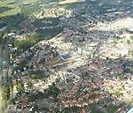 kiekjes vanuit de lucht op Oldambt Winschoten, Oldambt