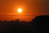 Zonondergang ter apel Ter Apel, Westerwolde
