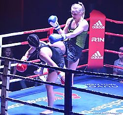 1e kickboxgala in Bellingwolde Bellingwolde, Bellingwedde