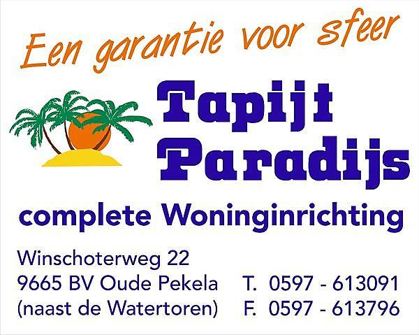 Tapijt Paradijs Oude Pekela