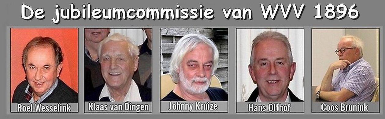 Jubileumcommissie WVV 1896 Winschoten