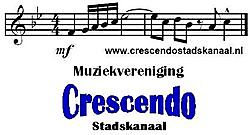 More information on the company profile! Muziekvereniging Crescendo Stadskanaal