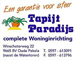 More information on the company profile! Tapijt Paradijs Oude Pekela