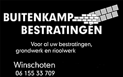 Meer informatie op het bedrijfsprofiel! Buitenkamp Bestratingen Winschoten