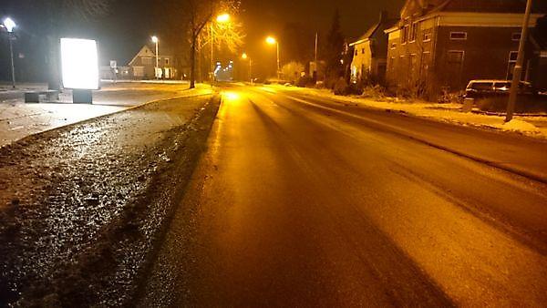 Nieuw ijzelgebied trekt over Groningen