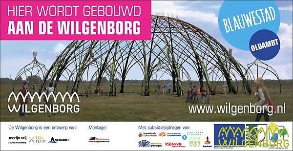 Wilgenborg Blauwestad, uniek in Nederland.