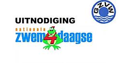 Nationale Zwemvierdaagse in zwembad 'De Watertoren' Winschoten