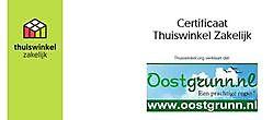 Oostgrunn heeft het Thuiswinkel Certificaat gekregen