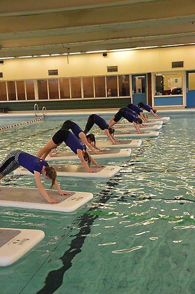 Floatfit,  een High Intensity Interval Training.