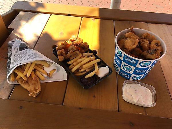 Nu ook Fish&Chips bij Vishandel Chris Lich!