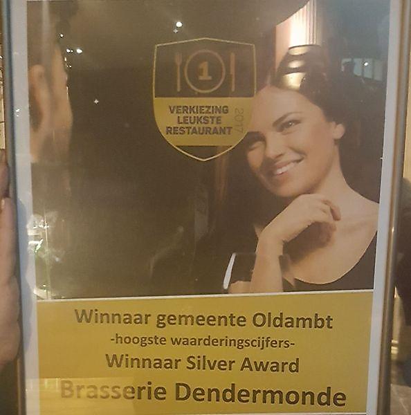 Dendermonde winnaar Leukste restaurant