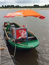 PRIMEUR: De IJscoboot op het Oldambtmeer!