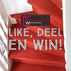 Win een volledige stoffering voor je trap!