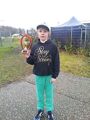 Marijn Kenter. Eerste wedstrijd van het seizoen... regio 1 in Zevenhuizen Winschoten