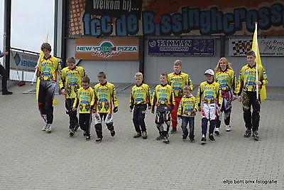 NK fietscross in Ommen Winschoten