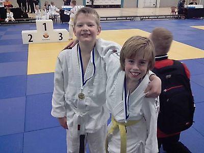 Jeugdjudoka's  Judo Tan-Ren-Jutsu in de prijzen op Opstaptoernooi in Roden. Finsterwolde