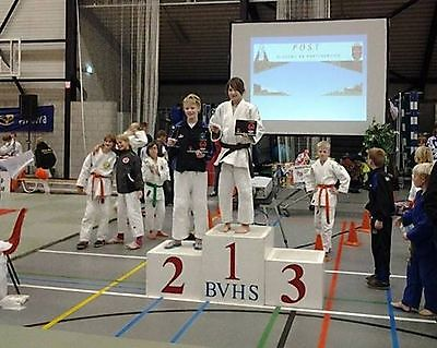 Oost Groningse judoka's behoorlijk in de prijzen. Finsterwolde
