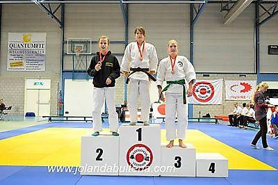 Vijf podiumplaatsen voor Judo Tan-Ren-Jutsu in Veendam Finsterwolde