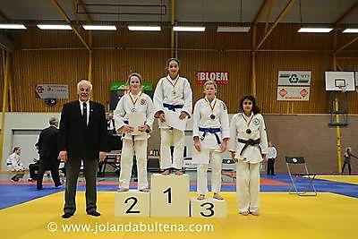Prima resultaten  St.  Judoschool Oost-Groningen op Noord Nederlands Kampioenschap -12 en -15 jaar. Finsterwolde