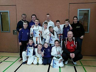 Oost-Groninger judoka's behalen succes in Duitsland Finsterwolde