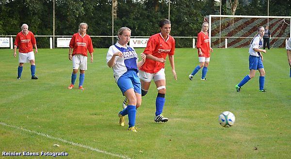 Dames Bellingwolde winnen met 7-0 van Valthermond