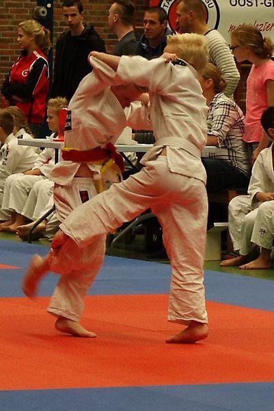 Judoschool Tan-Ten-Jutsu Oost-Groningen in de prijzen in Vlagtwedde. Finsterwolde
