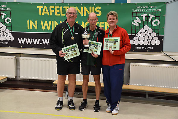 Henk Pater clubkampioen WTTC 2017 Winschoten
