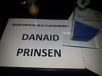 Danaid Prinsen Sport Vrouw van het jaar 2013 in het Oldambt. Oost-Groningen