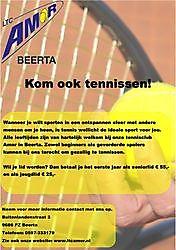 Komt u ook Tennissen? Beerta