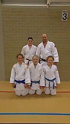 Vier judoka's in de top 10 van Nederland. Finsterwolde