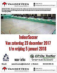 IndoorSoccer 2017 - 2018 Wedstrijden en Uitslagen Winschoten