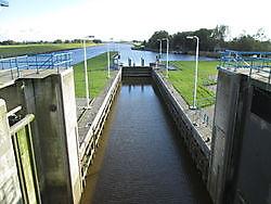 ToerismeSluizencomplex Nieuw Statenzijl